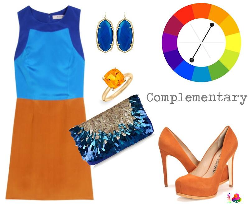 رنگها در لباس