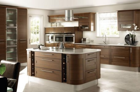 طراحی کابینت جزیره آشپزخانه به چه صورتی امکان پذیر است؟