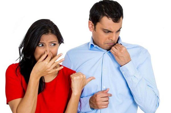 رابطه بوی بدن بدن و تغذیه